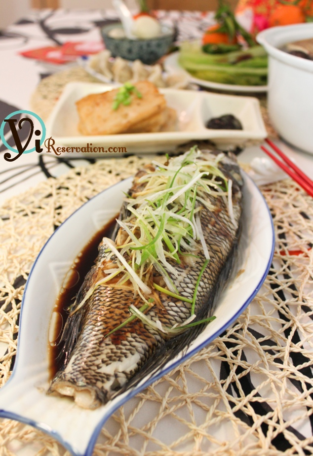 Chinese new year special traditional steamed fish for Chinese steamed fish