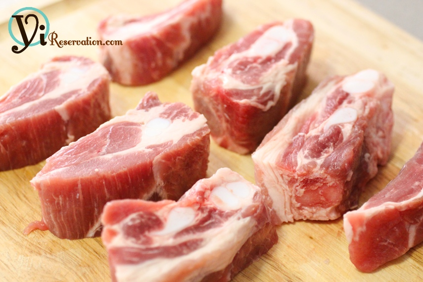 Quick pork rib tips recipe