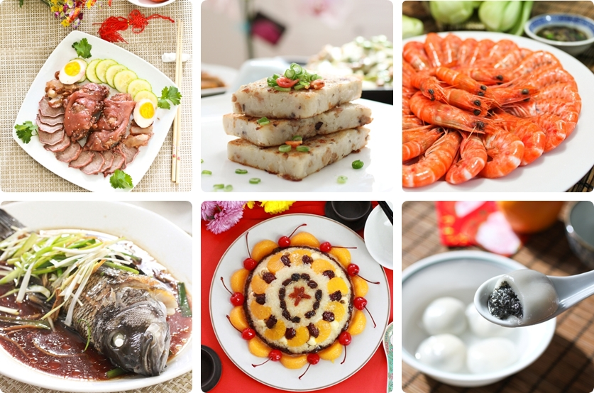 Chinese New Year Dishes
