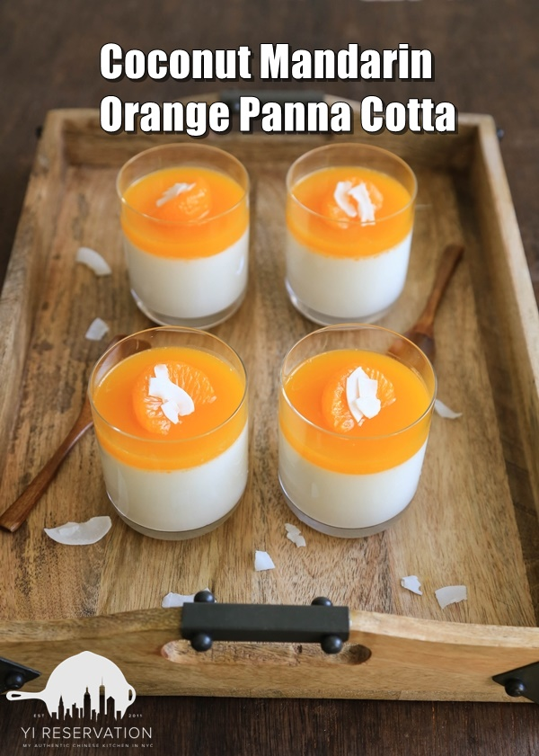 easy holiday dessert panna cotta