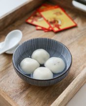black sesame tang yuan recipe