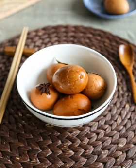 asy Chinese tea eggs Easy Chinese Tea Eggs 茶葉蛋 recipe